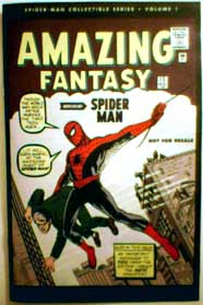 Amazing Fantasy #15 — the debut issue of Spider-Man.