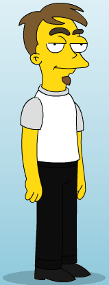 What I look like as a Simpsons character.