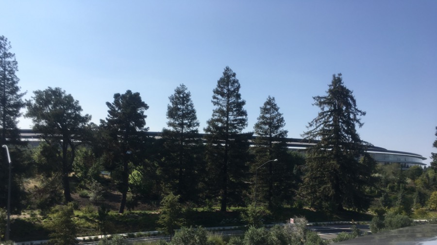 Photo of Apple Park.