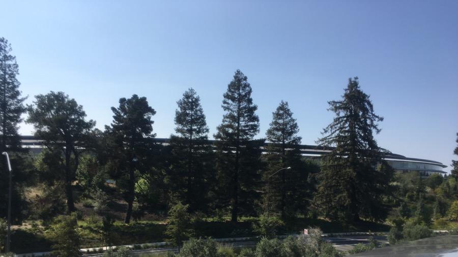 Photo of Apple Park.